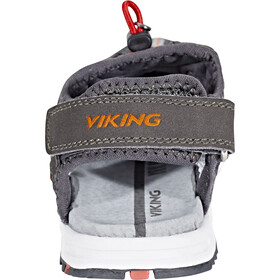 Viking Footwear Thrill Chaussures Enfant, charcoal/red